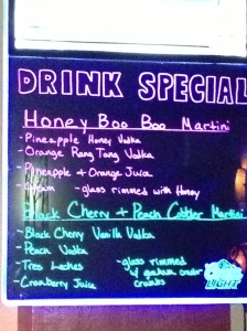 Honey Boo Boo Martini